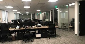 West LA Office Work stations