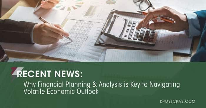 Why Financial Planning & Analysis i