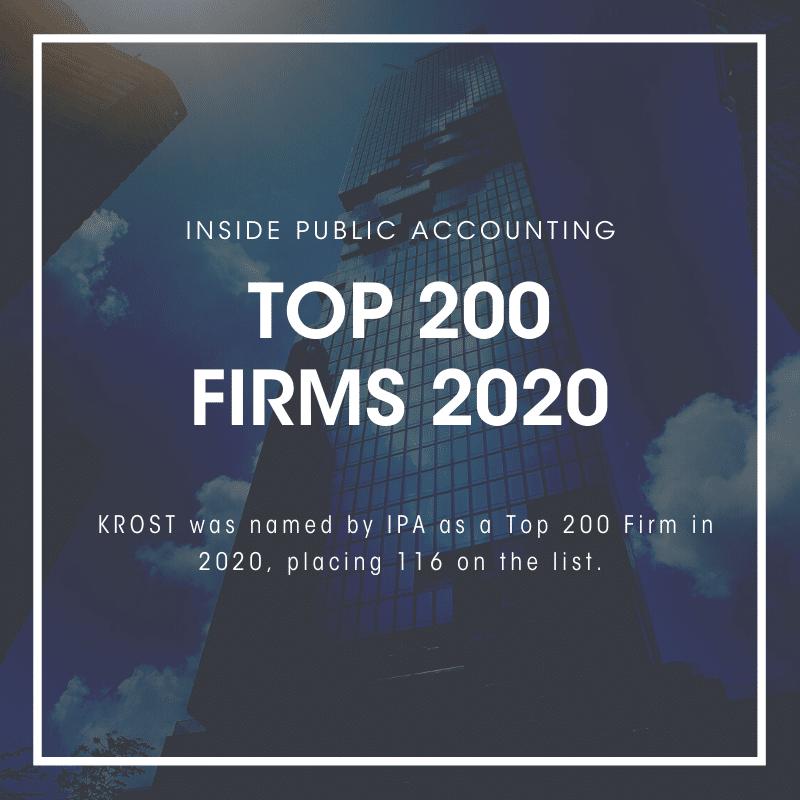 2020 IPA Top 200 Firms