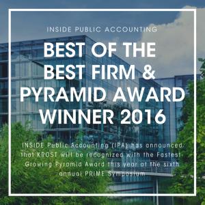 Pyramind Award Winner - Los Angeles CPA